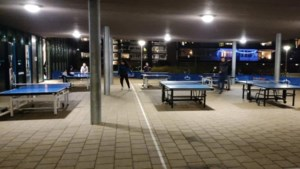 Tafeltennisvereniging Westa zoekt buitenlocatie voor trainingen