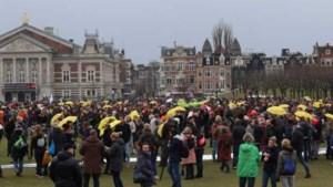 Meeste betogers vertrokken van Museumplein na oproep politie