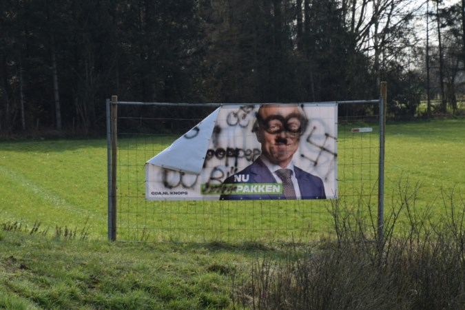 Verkiezingsdoek CDA beklad: ditmaal moet Raymond Knops het ontgelden