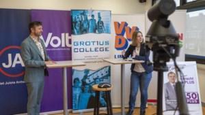 Verkiezingsdebat met Limburgse kandidaat-Kamerleden op Omroep P&M