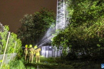 Man die zendmast in Maasbree in brand stak 'heeft niets tegen 5G' en handelde 'in een opwelling'