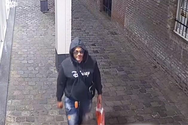 Man die vrouw beroofde in Maastricht op camerabeelden vastgelegd