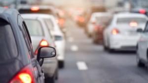 Ongeval met zeven auto's op A67