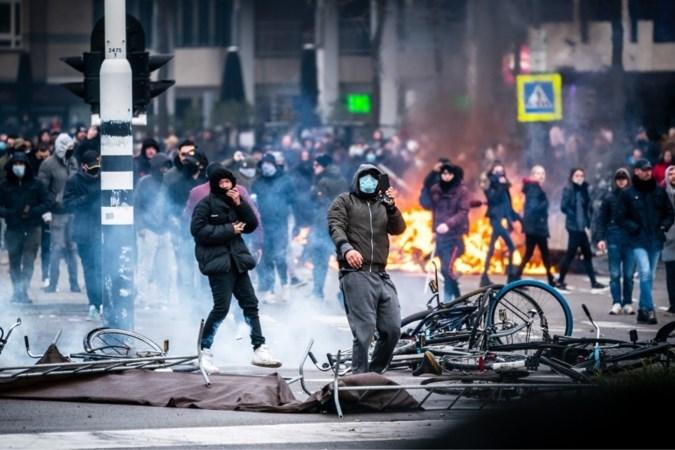 Twee mannen uit Roggel opgepakt voor rellen in Eindhoven
