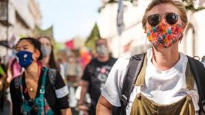 Demonstranten boos over beperkingen bij klimaatalarm in Heerlen
