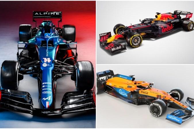 Formule 1: Dit zijn alle nieuwe auto's voor het komende seizoen