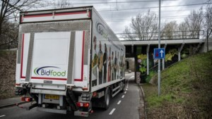 Tunnel in Voerendaal mogelijk verboden terrein voor truckers, waterbedeffect met vrachtwagens moet worden voorkomen