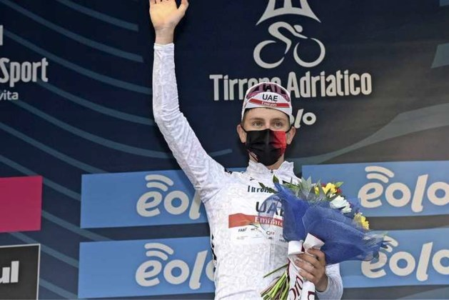 Tadej Pogacar grijpt de macht in Tirreno-Adriatico