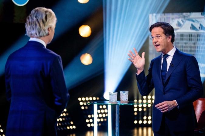 Het keepersgeluk van een premier, voor Rutte is Wilders de ideale tegenstander in deze campagne