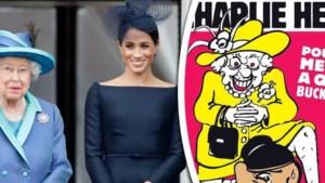 Heisa om cartoon Charlie Hebdo met Meghan en koningin Elizabeth