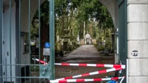 Te onveilig na storm: begraafplaats Tongerseweg in Maastricht blijft de hele week dicht