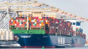 Tekort aan containers voor scheepvaart nog niet opgelost