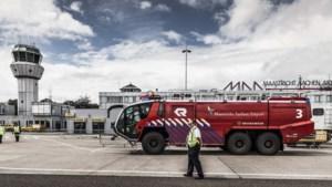 Nieuw 'crashtender' brandweervoertuig voor Maastricht Aachen Airport