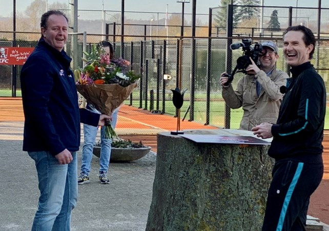 Tennisbond roept Kimbria-voorzitter uit tot vrijwilliger van het jaar