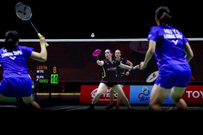 Wereld ligt stil, maar badmintonster Cheryl Seinen draait door