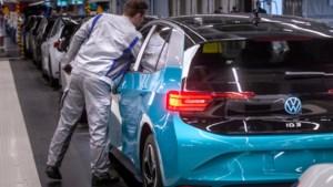 Beleggers zien het ambitieuze Volkswagen als serieuze concurrent voor Tesla