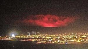 Vulkaanuitbarsting in zuidwesten IJsland, vliegverkeer stilgelegd