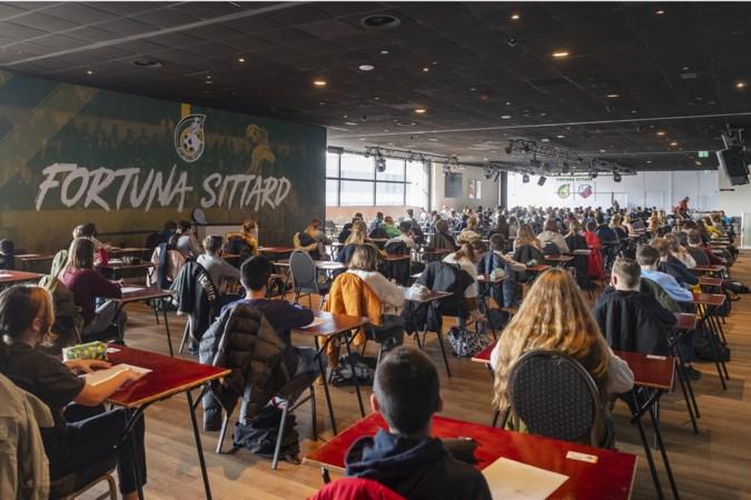 Ook fans van Roda moeten in het Fortuna-stadion proefwerken maken