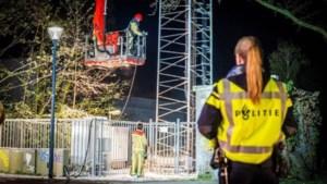 Geen celstraf voor man die zendmast in brand stak in Maasbree