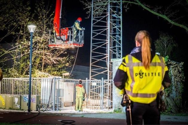 Geen celstraf voor man uit Roggel die zendmast in brand stak in Maasbree