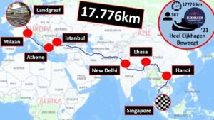 Leerlingen Eijkhagen leggen 17.776 kilometer af en 'eindigen' in Singapore