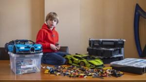 Zevenjarige Samuel uit Maastricht bouwt in zijn eentje een Lamborghini van Lego: 'Het is moeilijk, maar niet voor mij'