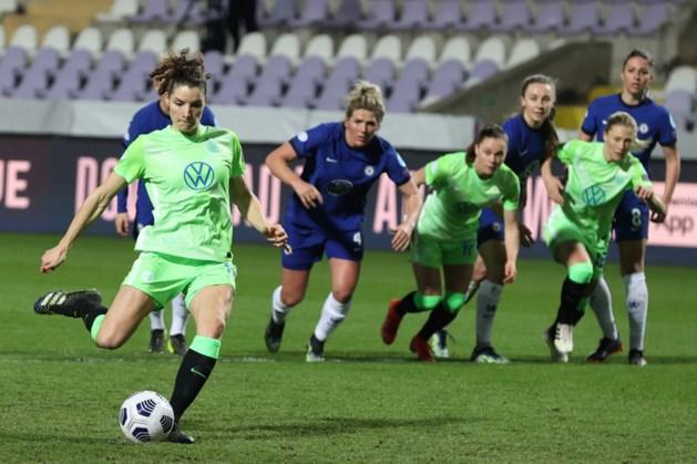 Doelpunt Dominique Janssen helpt Wolfsburg niet aan zege in Champions League