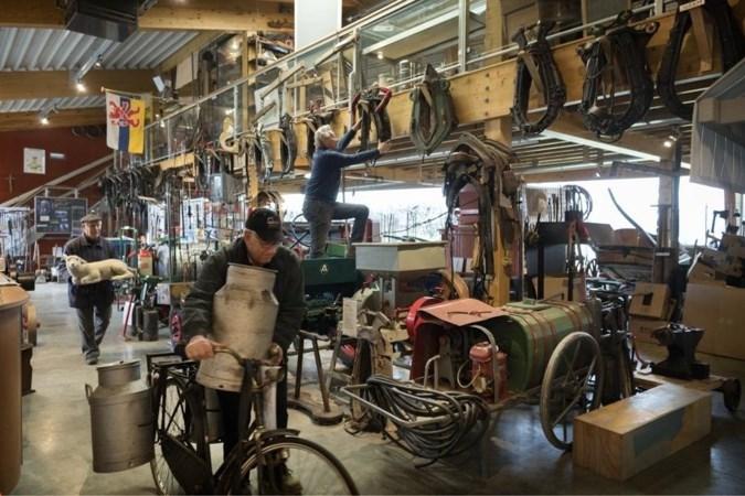 Nieuwe plek voor collectie van Melicker landbouwwerktuigenmuseum in Roggel