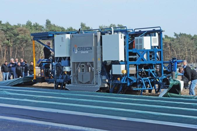 Robot kust nu de 'koningin van de groenten' wakker: 'Zo blijft de aspergeteelt voor Limburg behouden'