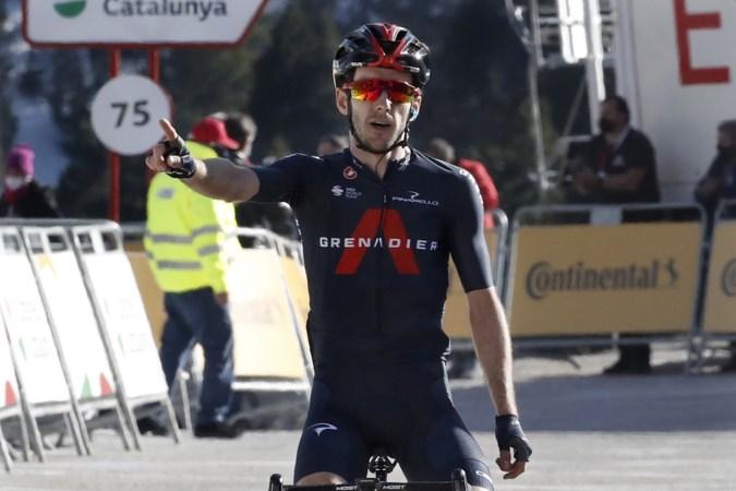 Adam Yates ritwinnaar en nieuwe leider in Ronde van Catalonië