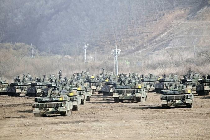 'Raketman' Kim Jong-un zet Joe Biden met lanceringen voor het blok
