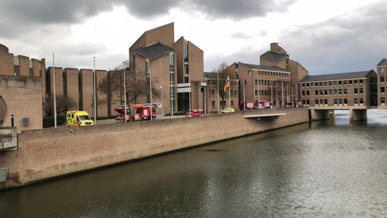 Provinciehuis in Maastricht gedeeltelijk ontruimd vanwege brand