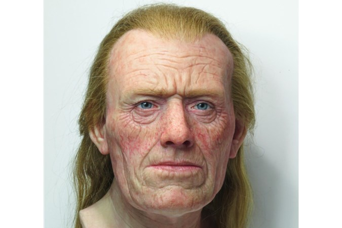 Zag de 'Romein' er zo uit? Tweeduizend jaar oud skelet uit Tongeren krijgt een realistisch gezicht