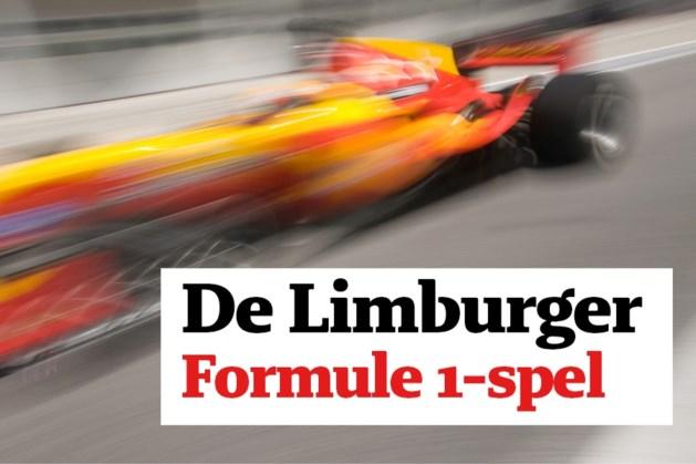 Speel mee met het Formule 1-spel en maak kans op een compleet verzorgde reis naar Spa Francorchamps