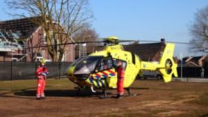 Traumahelikopter landt na brandmelding bij locatie De Zorggroep in Horst