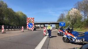Begin april wegwerkzaamheden A67 bij Venlo richting van Eindhoven, afrit Helden afgesloten