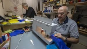 Peter en Cisca uit Brunssum maakten al meer dan negentig vliegers met de hand