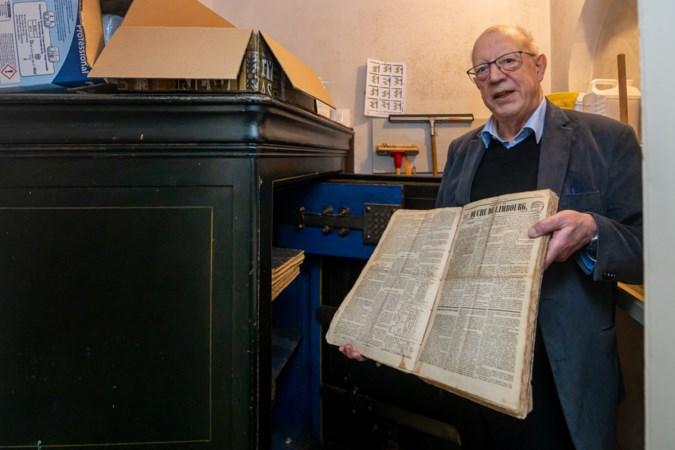 Oude kranten uit parochiekluis Valkenburg naar Rijksarchief in Maastricht