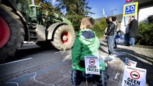 Na jaren van acties komt er eindelijk een verbod op vrachtverkeer in Grensstraat Waubach