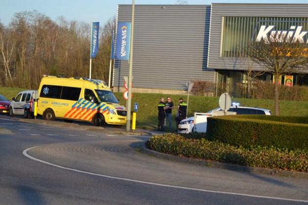 Fietser raakt gewond bij ongeluk in Brunssum