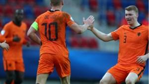 Jong Oranje plaatst zich voor kwartfinale EK voetbal
