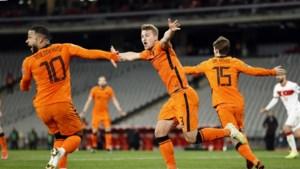 Oranje blameert zich tegen Turkije: kater op weg naar Qatar