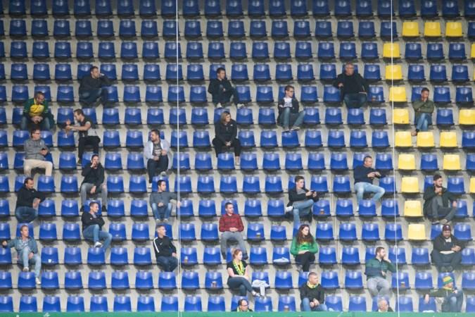 Wat te doen met fans die stadion niet in mogen? Bumpersticker of sushipakket, maar geen geld terug
