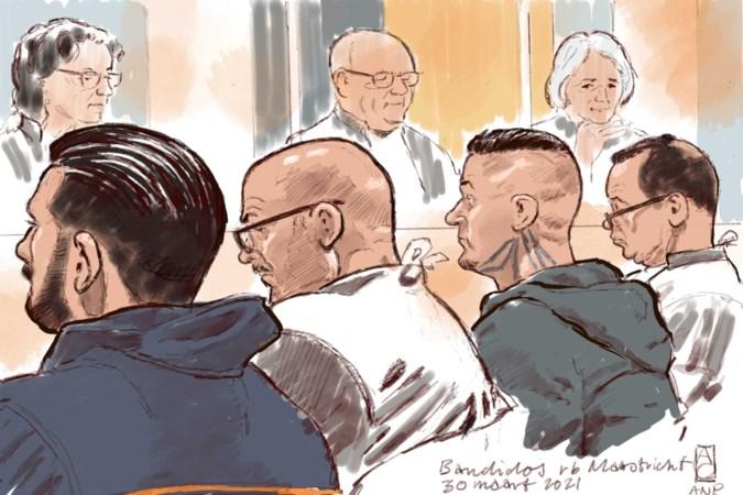 Tweede dag Bandidos-proces: 'Schaken met de naambordjes van verdachten' in de rechtbank in Maastricht
