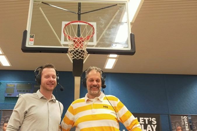 Vader en zoon Heijdeman achter de microfoon bij BAL Weert: 'Het is net als thuis op de bank'