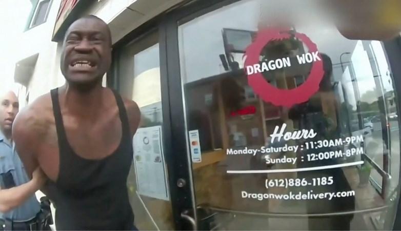 Nieuwe beelden: bodycam filmt arrestatie George Floyd