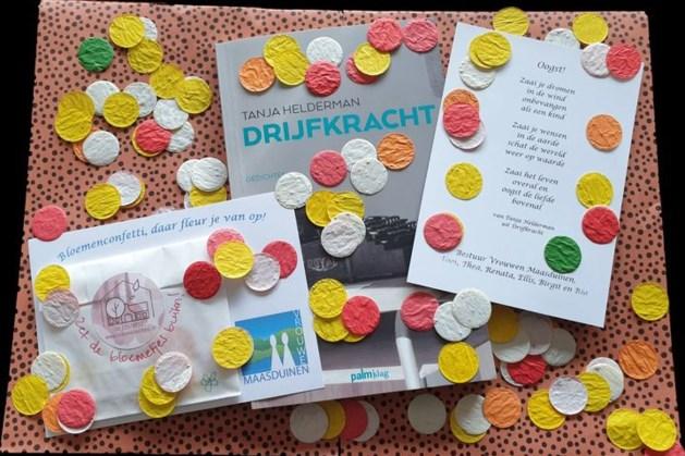 Vrouwen Maasduinen opgevrolijkt met confetti en gedicht