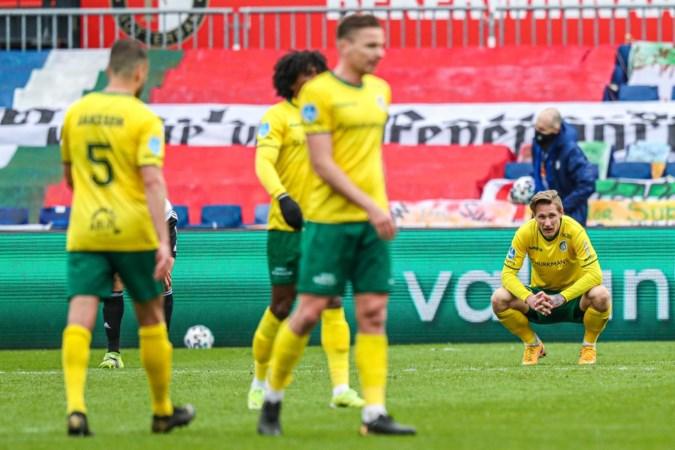 Cox baalt van Fortuna-nederlaag, maar is blij dat hij weer fit is: 'Het is niet de mooiste teennagel die je voorlopig zult zien'