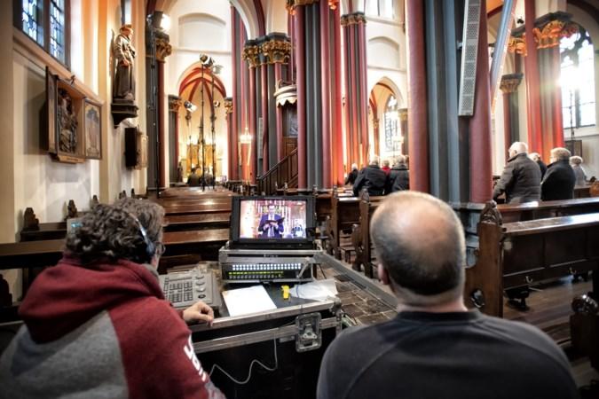 Kerk in Waubach in de kijker met paasdiensten op nationale televisie: 'Kijkcijfers sinds corona omhoog geschoten'
