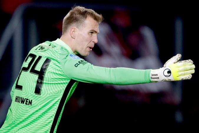 Limburgse Vitesse-doelman Jeroen Houwen blijft na eerste duel sinds 2,5 jaar realistisch: 'Ik heb geleerd wat tegenslag inhoudt'